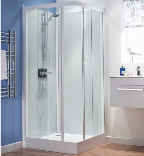 Kinedo Kineprime Watertight Sliding Door Shower Cubicle Pod 900mm x 900mm