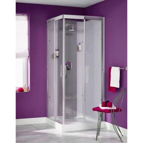 Kinedo Moonlight Corner Watertight Saloon Door Shower Pod Cubicle 900mm x 900mm