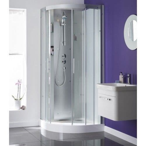 Kinedo Moonlight Quadrant Watertight  Shower Pod Cubicle 900mm x 900mm