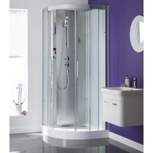 Kinedo Moonlight Quadrant Watertight  Shower Pod Cubicle 900mm x 900mm