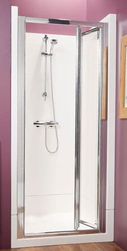 Kubex Eclipse Leak Proof  Shower Cubicle with Bi- Fold Door 900mm x 900mm