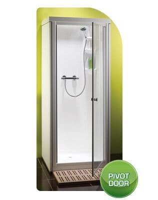 Kubex Kingston Leak Proof Pre - Assembled Shower Pod Cubicle with Pivot Door 785mm x 705mm