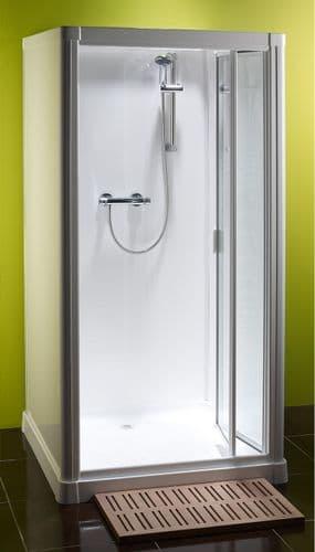 Kubex Profile 900 Leak Proof  Shower Cubicle with Pivot Door 970mm x 970mm