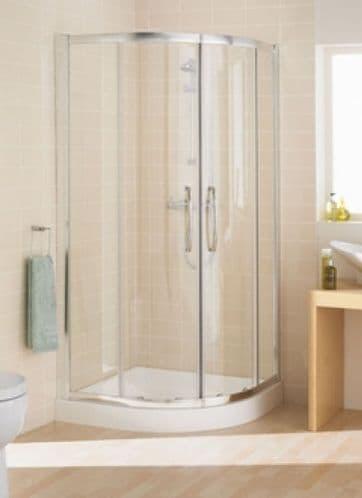 Lakes Bathrooms Classic 800mm 2 Door Quadrant Shower Enclosure