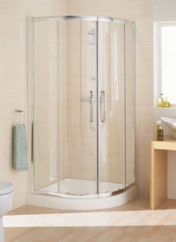 Lakes Bathrooms Classic 800mm 2 Door Quadrant Shower Enclosure