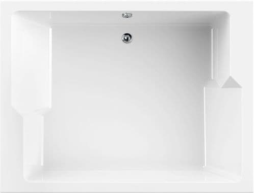 Liberty Duo Large Double Ended 2 Person 1900mm x 1450mm Inset Bath