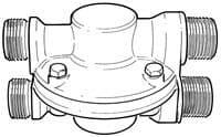 """PEV 1/2"""" Water Pressure Equalising Valve 16711"""