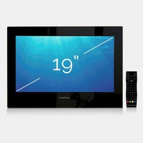 "ProofVision 19"" Premium Widescreen Waterproof Bathroom TV BLACK"