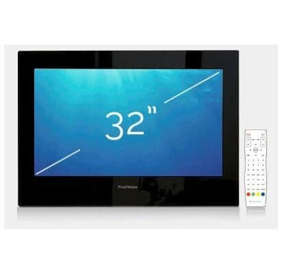 "ProofVision 32"" Premium Widescreen Waterproof Bathroom TV BLACK"