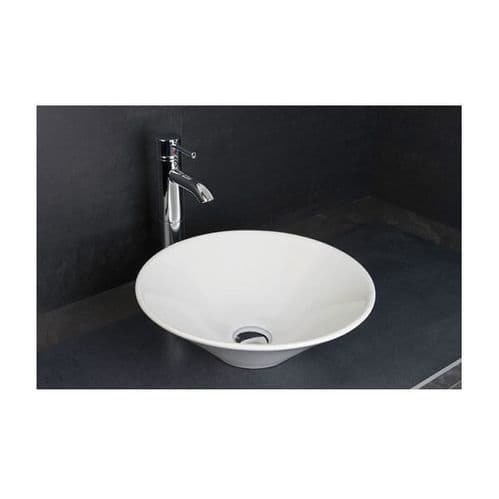 Rak Cone 380mm Counter Top Basin with 0 Tap Hole 380 x 380 x 130mm