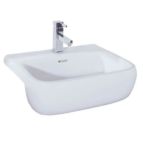 Rak Metropolitan 520mm Semi Recessed Basin 520 x 425 x 180mm