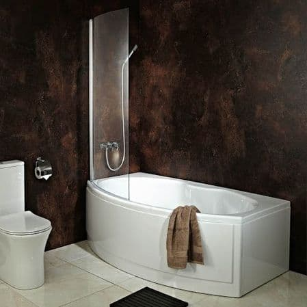 Straight Shower Baths
