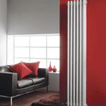 Vertical White Radiators