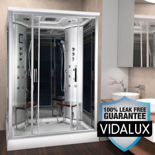 Vidalux Tempest Twin 1400 x 900 2 Person Steam Shower Cabin