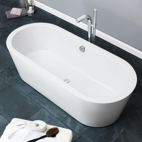 Waters Baths Marsh 1715mm x 783mm Double Ended Freestanding Bath Linear