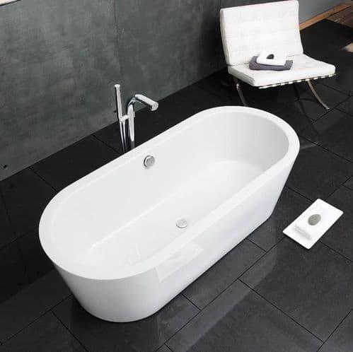 Waters Baths Marsh 1800mm x 783mm Double Ended Freestanding Bath Linear