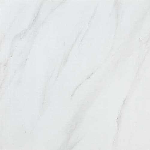 White Marble Shower Wall Panel Premium 10mm PVC Waterproof 1m 1000mm x 2400mm Shower Board