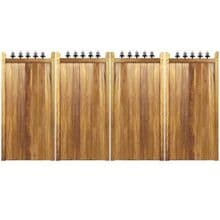 Hardwood Bi-fold Gates, The London